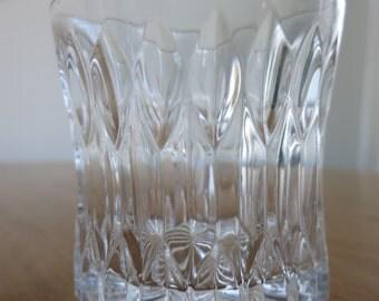 Set of Eight 8 oz. cut-glass glasses
