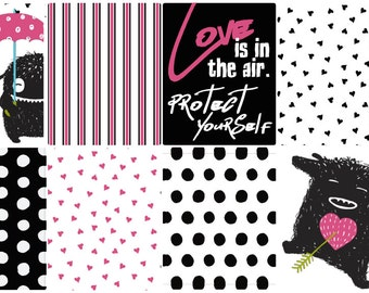 Love is in the Air - Anti-Valentine's Day - Full Box Planner Stickers