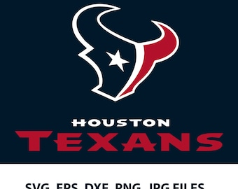 Houston Texans logo SVG - Vector Design Svg, Eps, Dxf, Png, Jpeg Format for Circuit and Silhouette, Digital download