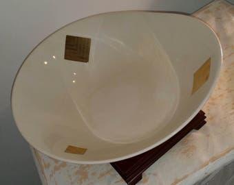 Mid Century Modern Pottery Bowl / Mid Century Bowl / Pottery