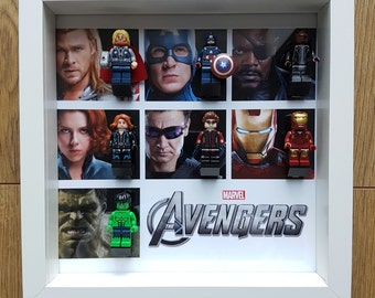 Marvel The Avengers Lego Wall Display Frame