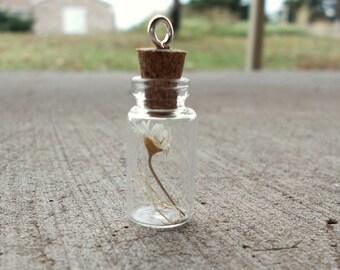 Spring vial necklace