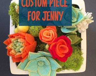 Custom piece for Jenny