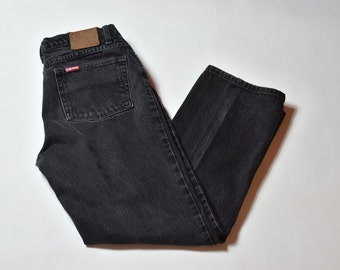 Vintage Faded Black Polo Ralph Lauren High Waisted Jeans