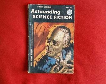 Astounding Science Fiction vol 10 #5 (May 1954) - Isaac Asimov, Mark Clifton, Alex Apostolides, Tom Godwin, Lee Correy, Kelley Edwards