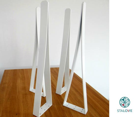 Metal table legs for dining table unique v shape table legs for Unusual shaped dining tables