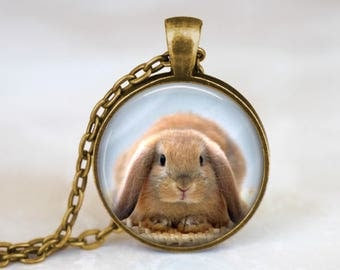 Bronze Bunny Necklace Cute Bunny Necklace Pendant Bunny Hop Necklace Jewelry Cute Bunny Pendant Necklace Cute Bunny Jewelry