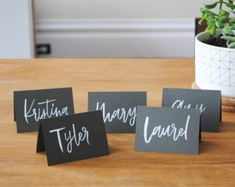 Custom Hand Lettered Place Cards - Weddings, Parties, Gatherings