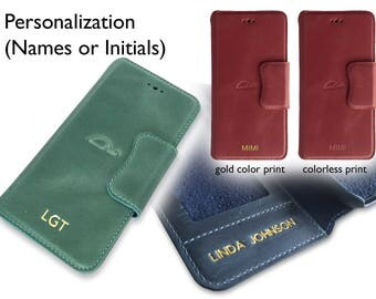 PERSONALIZATION - Add initials, name, date, or a short phrase of 3-5 words