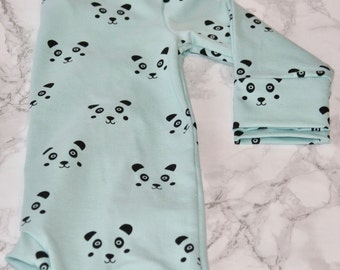 Baby Pajamas with panda face
