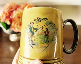 Your Dad's New Fishing Mug -- Made in England