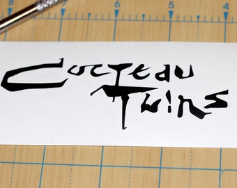 Cocteau Twins Sticker | Cocteau Twins Decal