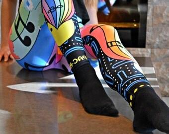 Pac-man Leggings