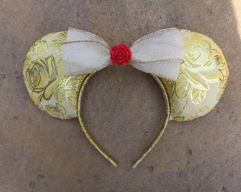 Beauty and the Beast, Belle Disney ears