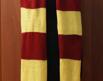 Harry Potter Inspired Handmade Scarf