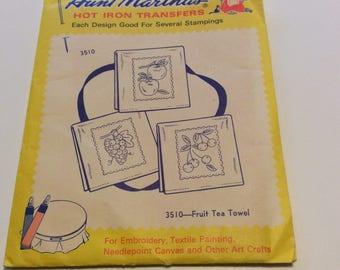 Aunt Martha's Hot Iron Transfers