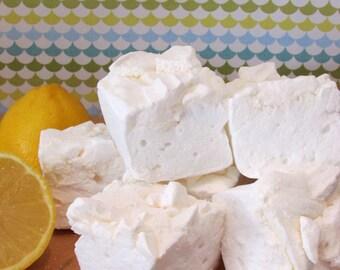 Large Handmade Lemon Meringue Marshmallows