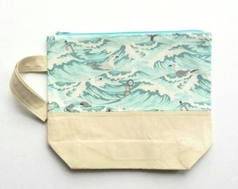 Small Project Bag - Rough Seas