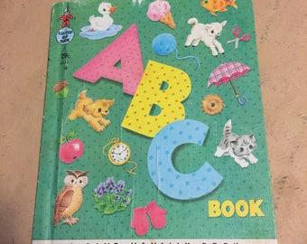 Vintage 1950's Rand McNally ABC kids book