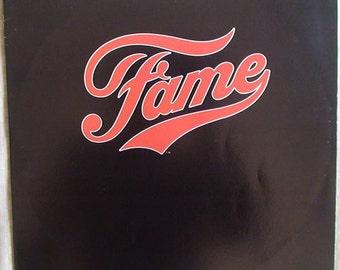 FAME Original Soundtrack Vinyl LP