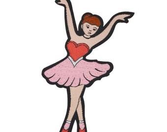 Ballerina Iron-on Patch