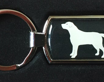 Golden labrador/ retreiver  keyring  gift