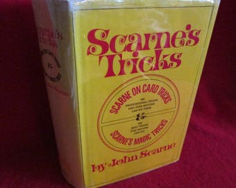 "Vintage ""Scarne's Tricks"" : Card Tricks and Magic Tricks"