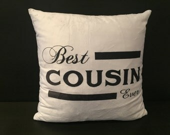 Best Cousin Ever Cushion