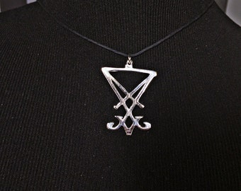 Sigil of Lucifer Pendant Necklace
