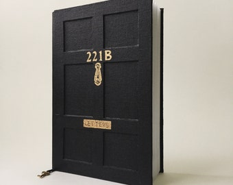 Arthur Conan Doyle book, Sherlock Holmes journal, Baker Street 221B notebook, handcrafted journal, Adventure of Sherlock Holmes