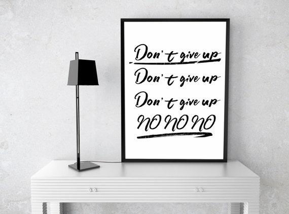 Sia, The greatest, Dont give up, Digital Art, Printable Art,Wall Print,Inspirational Print, Lyrics,Home decor, Sia poster, Sia art