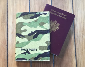 Holster leather - military Passport