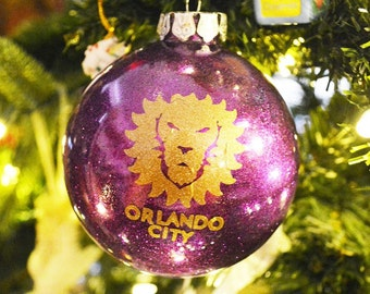 Orlando City Soccer Ornament