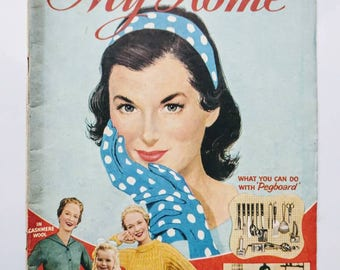 Original 'My Home' March 1957 Magazine