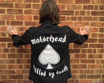 Motorhead denim jacket