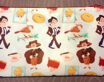 Twin Peaks Cosmetic Bag - Medium