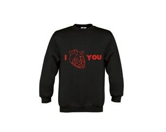 Anatomy sweater, anatomical heart sweater, anatomically correct heart, i heart you sweater, valentines sweater, valentines day sweater, love