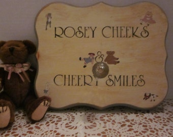 Rosey Cheeks and Cheery Smiles - Wall Decor