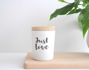 "Scented candle ""Just Love"""