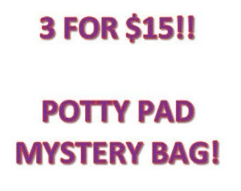 SALE!!  3 for 10!  10x10 Pee Pad - Potty Pad - Guinea Pig Potty Pad - Fleece Cage Liner - Fleece Pad - Absorbent - Uhaul Pad
