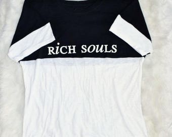 Rich Souls Half&Half Tee
