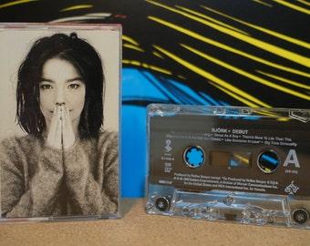 Debut by Björk Vintage Cassette Tape
