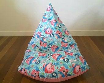 Kids bean bag cover - Shopkins