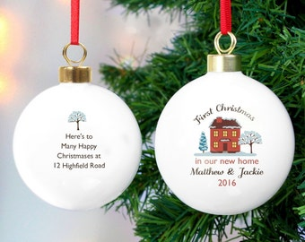 Personalised christmas bauble  Etsy UK