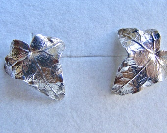 Ivy Leaf Stud Earrings