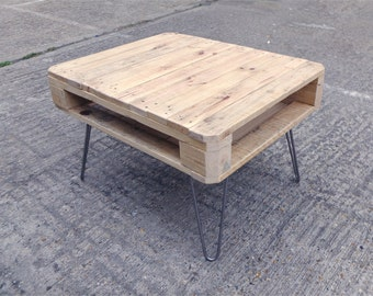 MAIKA - Reclaimed Pallet Wood Coffee Table