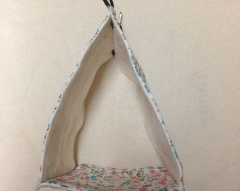 Tent for bird / mouse / hamster / gerbil...) to hang