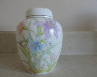 Pot ginger - Vase - painted hand - Japan