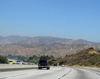 Highway, CA - PRINT