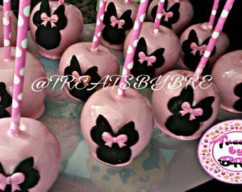 Candy Apples Minnie Mouse